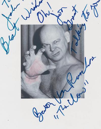 How Little Jimmy Raschke from Nebrasky Became Baron Von Raschke The Star