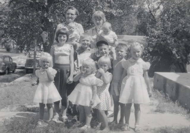 Grandma Ida and my family